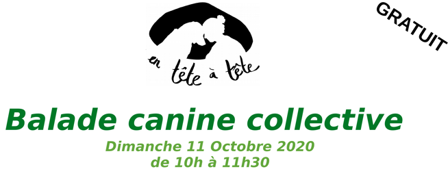 Prochaine Balade Canine Collective!